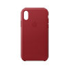 iPhone Xレザーケース - (PRODUCT)RED