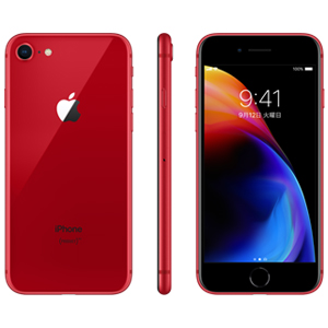 iPhone 8 (PRODUCT)RED 64GB(MRRY2JA) | au Online Shop(エーユー ...