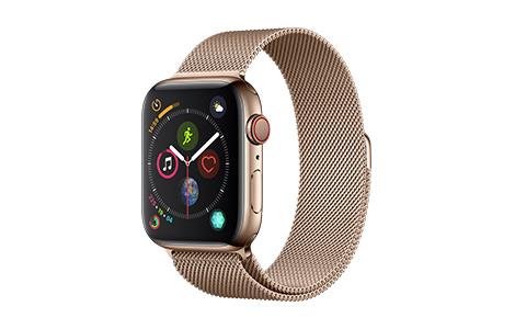 apple watch series 4 44mmゴールドステンレススチールケースとゴールド