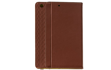 iPad mini Retina�f�B�X�v���C���f���p�P�[�X�^Brown DASH FOLIO