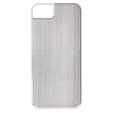 iPhone 5s�p�n�[�h�J�o�[�^Hairline Silver
