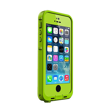 iPhone 5s�p�@fre LIFEPROOF Case Lime