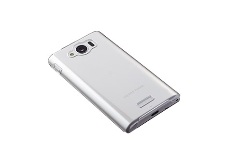 AQUOS PHONE SERIE mini SHL24 ハードカバー/クリア