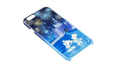 iPhone 6用ハードカバー/Disney pass Castle