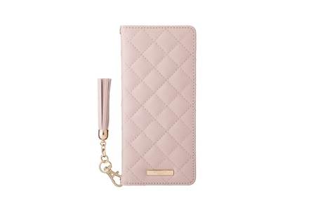 Xperia 1 II GRAMAS COLORS QUILT Leather Case/Pink Beige