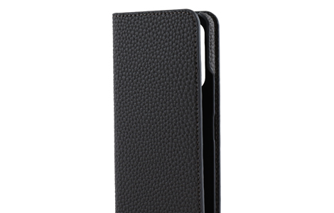 Blanccoco NY-CHIC&Smart Leather Case for Xperia 5 II/Gray