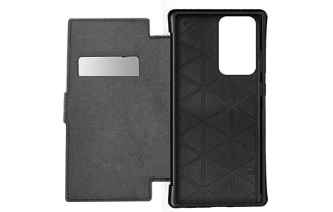 Galaxy Note20 Ultra 5G TUNEWEAR ANTI-SHOCK HYBRID CARD FOLIO/Black