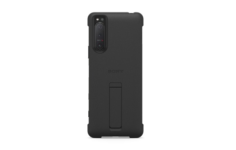 Xperia 5 II Style Cover with Stand/Black