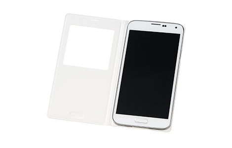 GALAXY S5 S View Cover/White★冬フェス対象★