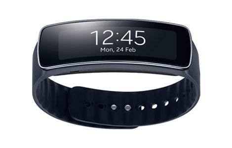 Samsung Gear Fit / Charcoal Black