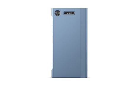 Xperia(TM) XZ1 Style Cover Touch/Blue