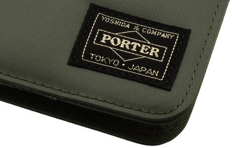 PORTER collaboration case for iPhone X / 8 & multi(~149mm)/khaki