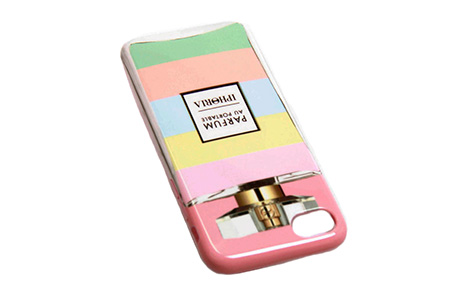 IPHORIA Perfume Case with Pastel Stripes for iPhone 7