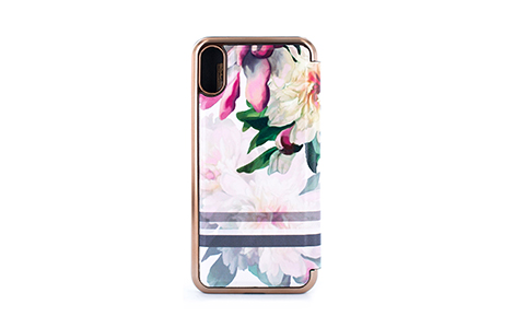 TED BAKER PAINTED POSIE for iPhone X