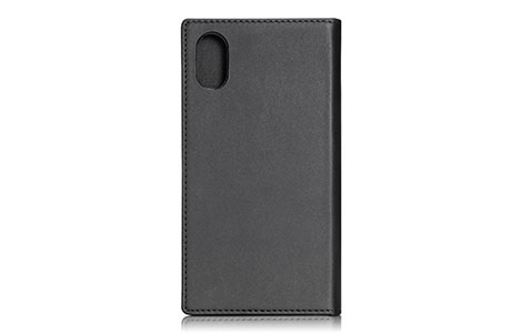GRAMAS Full Leather Case Limited for iPhone X/Black