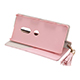 Xperia XZ2 GRAMAS COLORS QUILT Leather Case/Shiny Pink