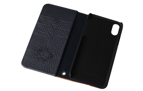 Orobianco Book case for iPhone XS/Navy