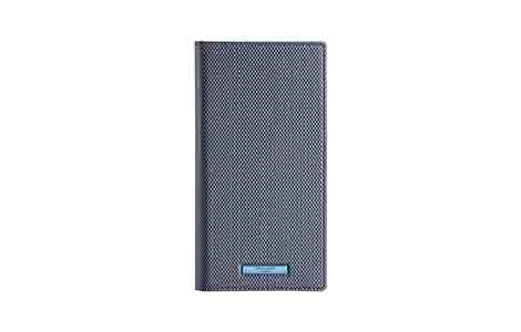 AQUOS sense2 GRAMAS COLORS EURO Passione 2 Leather Case/Metallic Navy