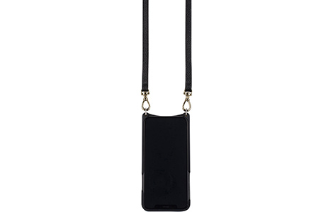 BANDOLIER EMMA GOLD for iPhone XS/Black