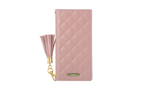 URBANO V04 GRAMAS COLORS QUILT Leather Case/Rose Pink
