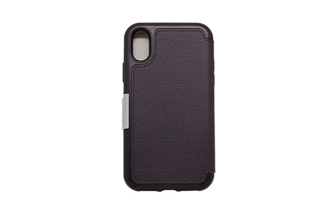 OtterBox SYMMETRY LEATHER FOLIO for iPhone XS/Navy