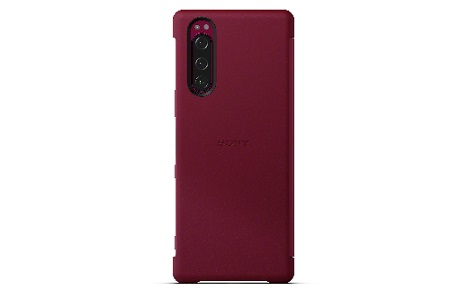 Xperia 5 Style Cover View/Red