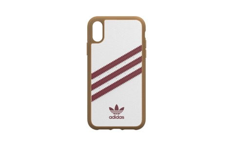adidas Originals SAMBA OG Moulded case for iPhone XR white/red