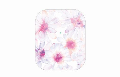 Wireless Charging Case for AirPods用 Flower Cover