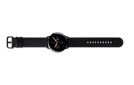 Galaxy Watch Active2 / Stainless steel / Black / 40mm
